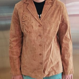 Suede lady's jacket
